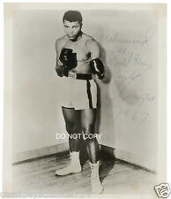 Muhammad Ali Reprint Signed 8x10 Photo RP Heavyweight Boxing Champion