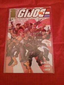 G.I. JOE A REAL AMERICAN HERO #1 IMAGE COMICS 2001 J. SCOTT CAMPBELL COVER NM