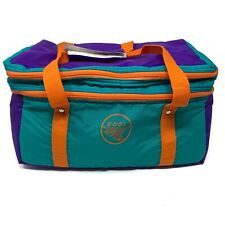 Vintage Colorful Cooler NWT Deadstock Insulated Cooler Bag