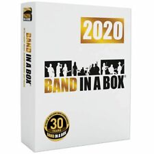 PG Music Band in a Box Pro 2020 Windows Composition & Accompaniment Software NEW