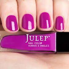 NEW! Julep nail polish BETTE Nail Vernis ~ Electric neon purple crème