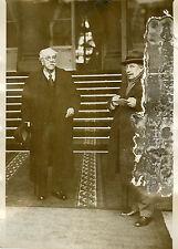 """Mr Gaston THOMSON (Elysée 1932)"" Photo originale G. DEVRED / Agce ROL"