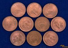 1957 NEPAL 5 PAISA KM#736 HAND COPPER COIN AU/UNC