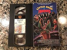 The Little Shop Of Horrors Vhs! 1986 Plant Horror! Earth Girls Are Easy Mame