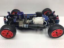 USED Victory Hawk 1:10 VH-L1 RC Nitro Gas 4WD Drive train W/ HPI fuel tank OZRC