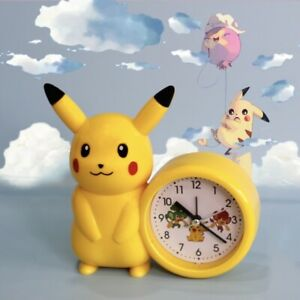 Pokemon Pikachu musical alarm clock➕Free Pikachu Gift 🎁