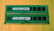 Samsung 8GB 2x 4GB PC3-12800U 1600 Dell Optiplex 3010 9010 9020 7010 7020 Memory