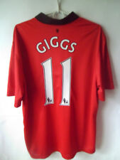 EXCELLENT!!! GIGGS !!! 2013-14 Manchester United Home Shirt Jersey Trikot XL