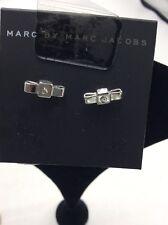 $42 Marc Jacobs silver tone mini bow stud earrings MM1