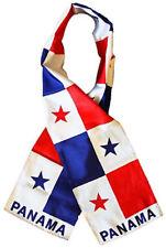 PANAMÁ Country Ligero BANDERA ESTAMPADO PUNTO bufanda estilo 20.3cmx152cm