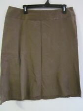 NEW WITH TAGS, COTTON/SPANDEX BROWN SKIRT  BY TARGET SIZE 14 RRP $39.99