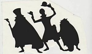 Magical Vacation Haunted Mansion Ghosts Vinyl Decal