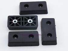 Set of 4 - Rectangular Rubber Feet .344