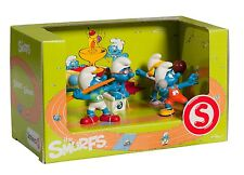 Schleich Sporty Smurfs Olympic Scenery Pack- 5-figure sports set