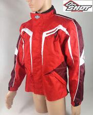 Chaquetas de motocross color principal rojo