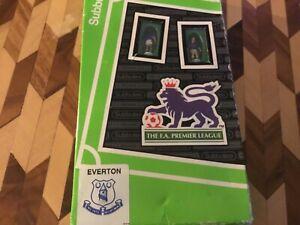 Subbuteo lw team Everton 63322 one to one chest ad kit - please read description
