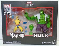 Hasbro Marvel Legends 80th Anniversary HULK vs WOLVERINE Action Figure Box Set