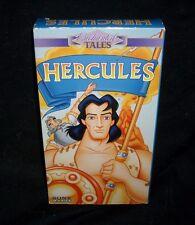 1996 SONY ENCHANTED TALES HERCULES GREEK MYTHOLOGY KIDS MOVIE TAPE 48 MINUTES