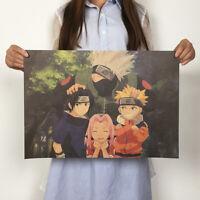 Anime Hokage Team 7 Kakashi Yamato Art Poster Room Home Wall Decorative Prints