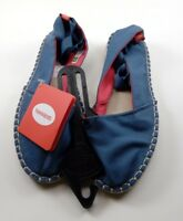 Havaianas Women's Origine Slim Espadrille Blue Size 6