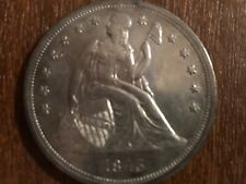 1843  LIBERTY SEATED DOLLAR CHOICE HIGH GRADE UNCIRCULATED