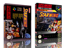 Starwing SNES Replacement Game Case Box + Cover Artwork Art (No Game)