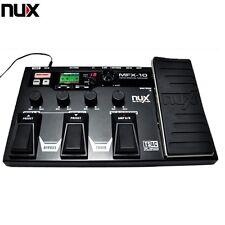 NUX MFX-10 Modeling Guitar Processor Guitar Pedal Drum Recorder Multi-function