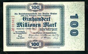 Germany 100,000,000 Mark 1923 UNC