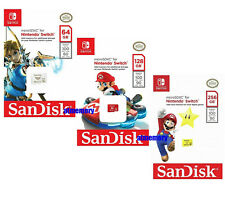 Nintendo Switch 64GB 128GB 256GB Tarjeta Micro Sd Sandisk Tarjeta de memoria SDXC