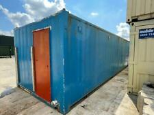 More details for 32ft x 10ft site office with toilets for sale - delivery available