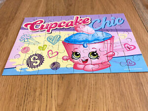 "Shopkins ""Cupcake Chic"" 40 Piece Jigsaw Puzzle"