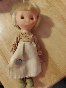 "6"" Holly Hobbie Friend Vinyl Doll Vintage 70s"