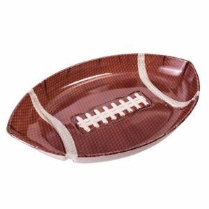 Forum Novelties 78685 Large Football Tray, One Size (Pack Of 12)