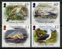 Tristan da Cunha Stamps 2019 MNH Vagrant Species Birds Seals Turtles 4v Set