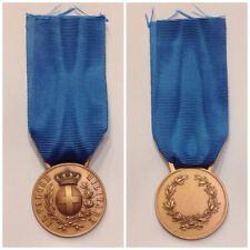 Riproduzione da conio originale della medaglia Al Valore Militare Bronzo - Regno
