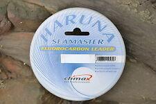 50m Climax Haruna Seamaster Fluorocarbon Leader Vorfach Schnur z.B. für Norwegen