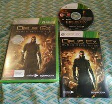 Deus Ex - Xbox 360 *Complete* PAL,AU