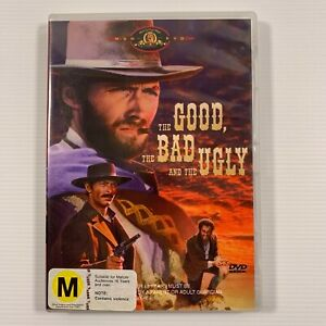 The Good Bad And The Ugly (DVD, 2004) 1967 film Clint Eastwood Region 4