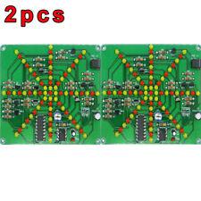 2X LSD-73 Electronic LED Falshing Lights Soldering Practice Board DIY Kit