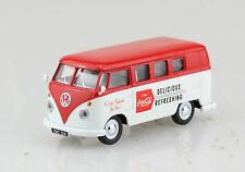 VW T1 Camper Bus Coca Cola Late 60´s 1:43 Vanguards Corgi Modellauto 02733