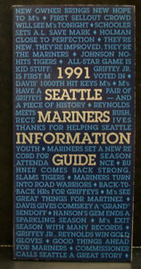 1991 Seattle Mariners Official Media Press Guide, 224 Pages of Facts & Fun!