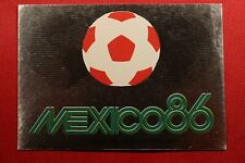 PANINI MEXICO 86 WORLD CUP MEXICO98 # 2 WITH ORIGINAL BACK!!