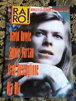 RARO! 77 Magazine about discography ps David BOWIE Buscaglione Sylvie Vartan