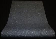 """6314-15) moderne Vliestapete einfarbig schwarz mit Glitzer """"Crystal Colours"""""""