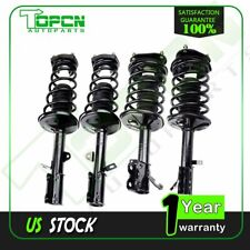 For 93-02 Toyota Corolla Prizm 4 Front Complete Strut Coil Spring and Rear Shock