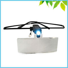 LED Magnifying Glass 1.5X 2.5X 3.5X Eyeglasses Magnifier Loup for Lash Extension