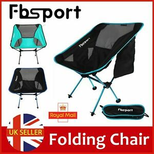 Lightweight Folding Camping Chair Backpacking Picnic Fish Beach Outdoor Seat BBQ