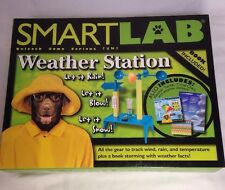Smart Lab Weather Station Book Science Experiments 2005 New Rain Sun Educational