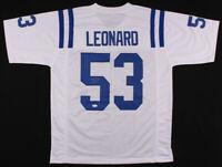 DARIUS LEONARD SIGNED JERSEY JSA COA INDIANAPOLIS COLTS NFL
