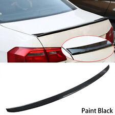 Rear Trunk Spoiler Lip Wing Unpainted USA Fits: VW Jetta V 2006-10 818L